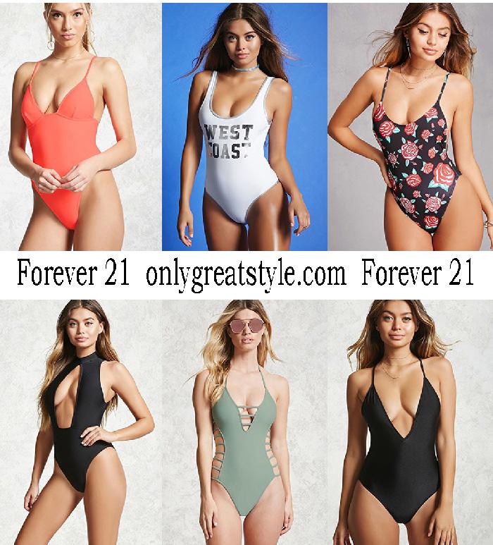 Swimwear Forever 21 Summer 2017