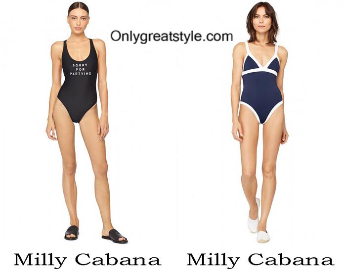 Swimwear Milly Cabana Summer 2017