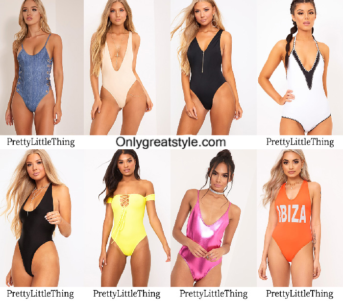 Swimwear PrettyLittleThing Summer 2017