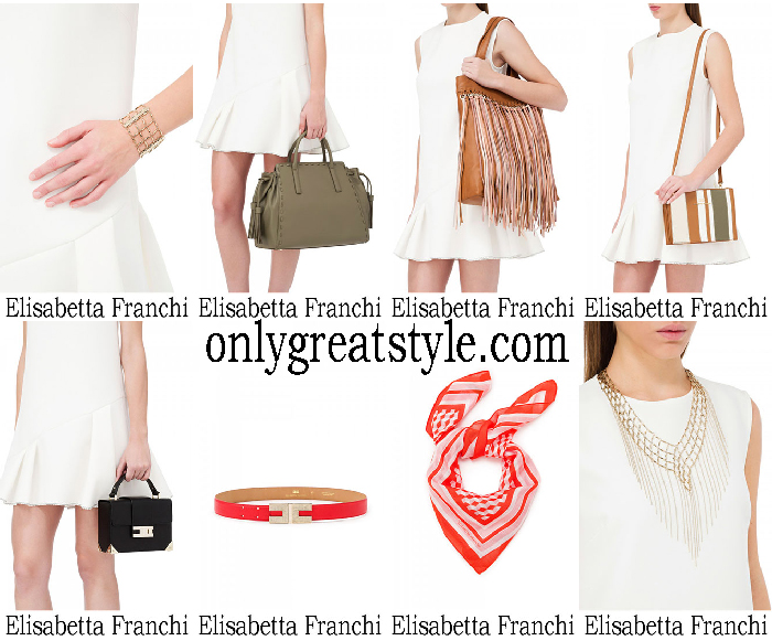 Accessories Elisabetta Franchi Summer Sales