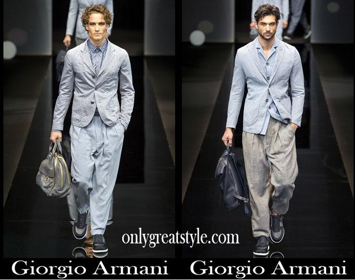 Brand Giorgio Armani Spring Summer Men