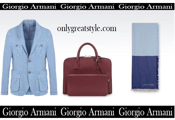 Catalog Giorgio Armani Summer Sales Men