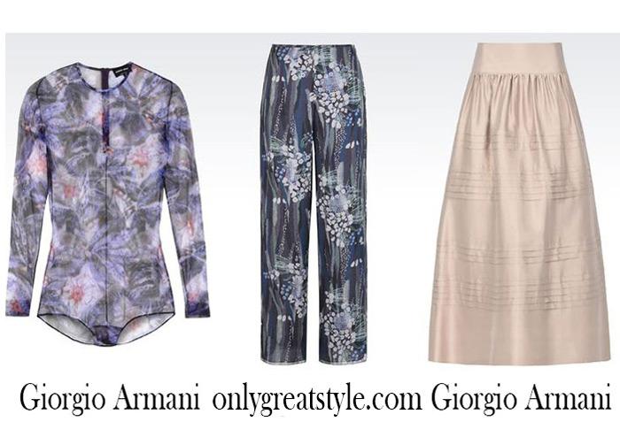 Catalog Giorgio Armani Summer Sales