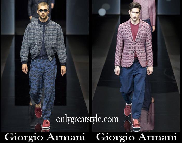 Clothing Giorgio Armani Spring Summer Men