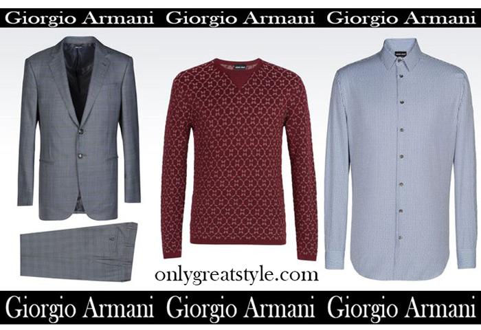 accbb264b6b Sales Giorgio Armani summer 2017 clothing for men