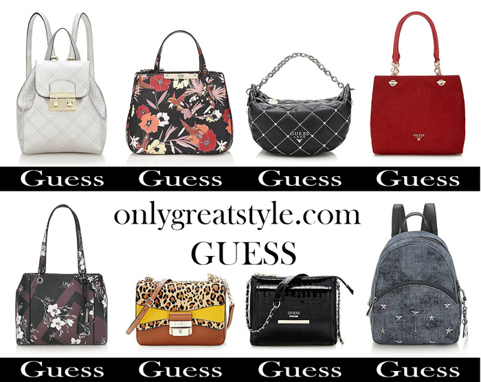 Bags Guess Fall Winter 2017 2018 Women Handbags