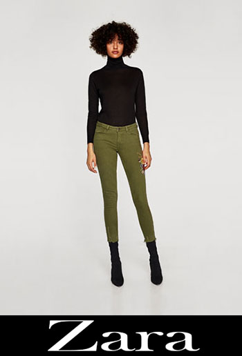 New Arrivals Zara Jeans Fall Winter Women 4