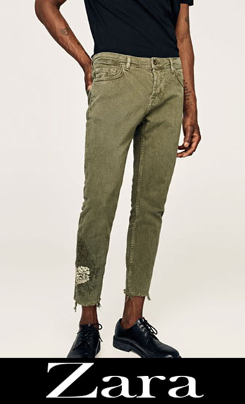 Zara Embroidered Jeans Fall Winter Men 6