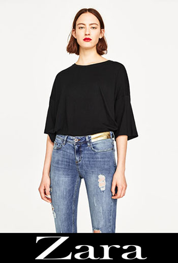 Zara Ripped Jeans Fall Winter For Women 3