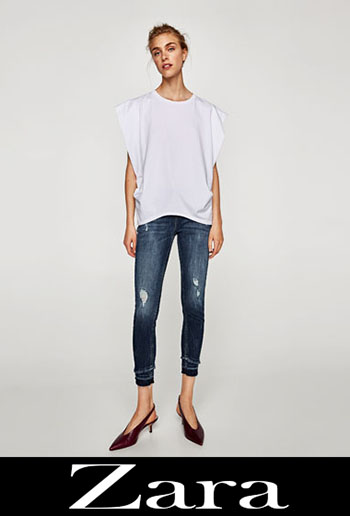 Zara Ripped Jeans Fall Winter For Women 5