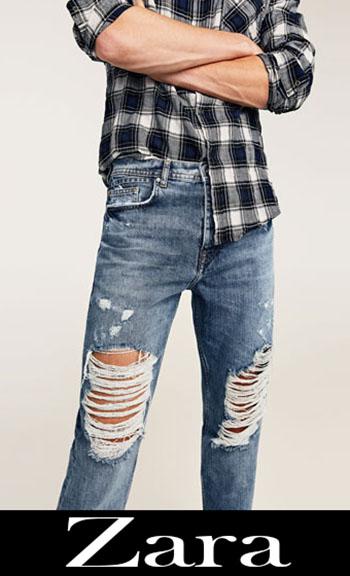 Zara Ripped Jeans Fall Winter Men 3