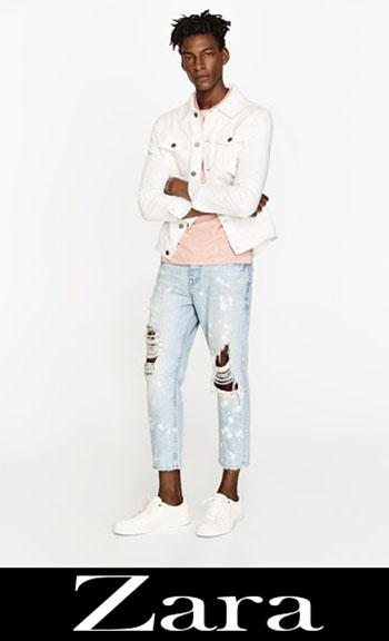 Zara Ripped Jeans Fall Winter Men 4