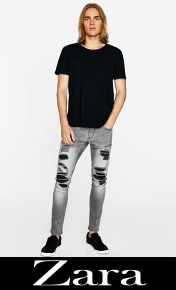 Zara Ripped Jeans Fall Winter Men 5