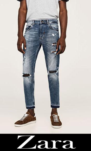 Zara Ripped Jeans Fall Winter Men 7