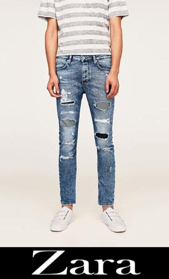 Zara Ripped Jeans Fall Winter Men 8