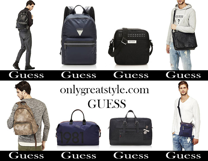 Bags Guess Fall Winter 2017 2018 Men