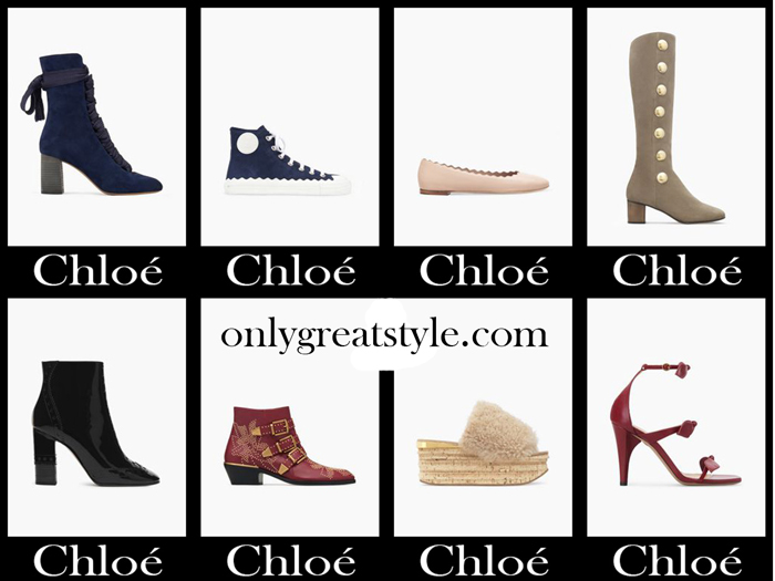 Chloé Shoes Fall Winter 2017 2018 Women