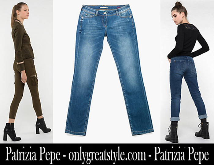 Denim Patrizia Pepe Fall Winter 2017 2018 Jeans