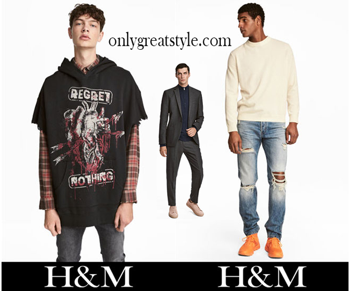 Fashion HM 2017 2018 Fall Winter Men
