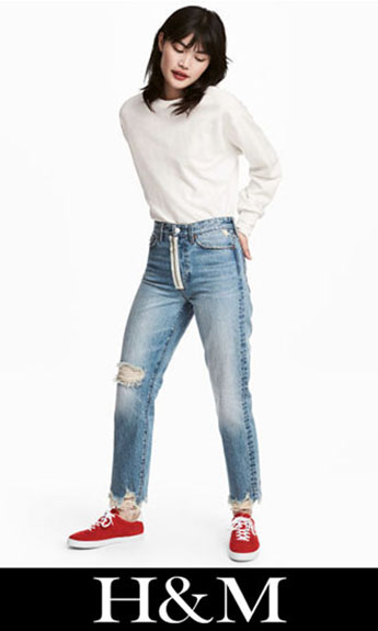 HM Ripped Jeans Fall Winter For Women 3
