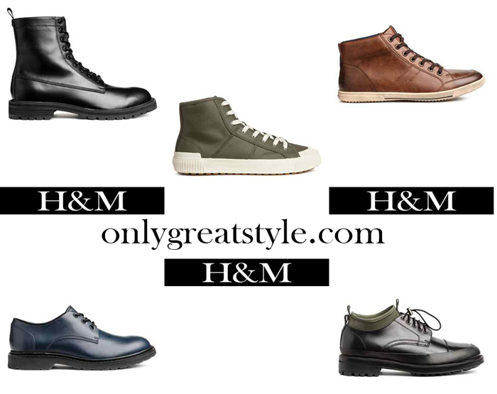 HM Shoes Fall Winter 2017 2018 Men