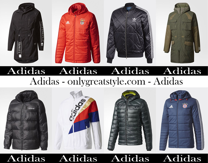Adidas Fall Winter 2017 2018 Jackets For Men