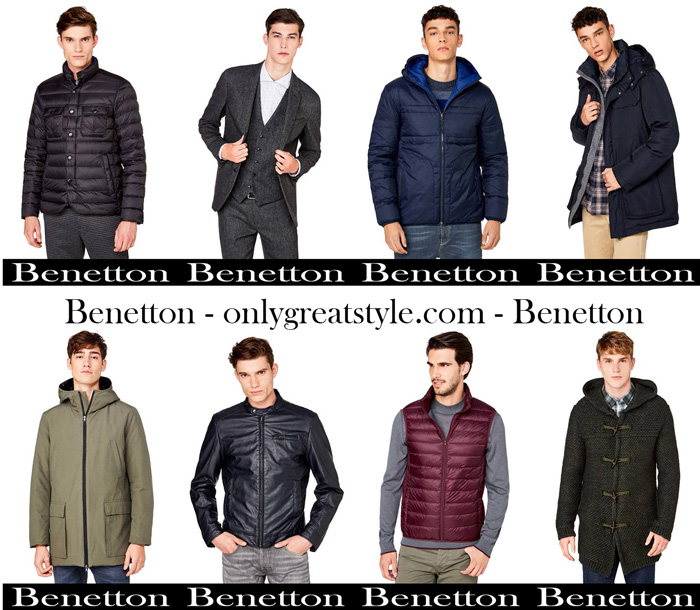 Benetton Fall Winter 2017 2018 Men Jackets
