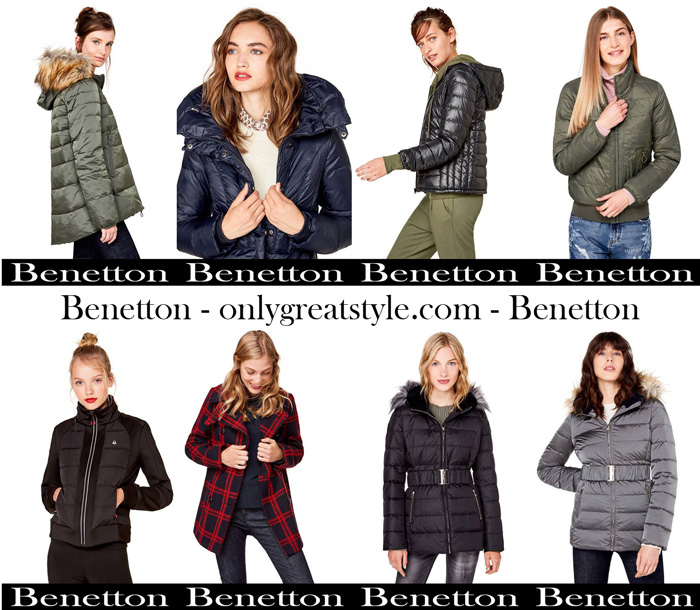 Benetton Fall Winter 2017 2018 Women Jackets