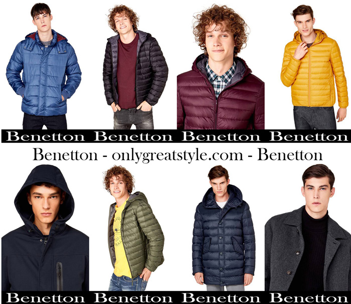 Benetton Jackets For Men New Arrivals