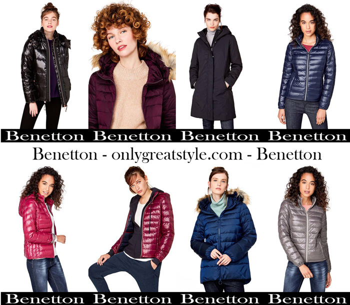 Benetton Jackets For Women New Arrivals