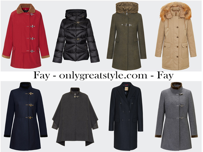 Fay Fall Winter 2017 2018 Outerwear