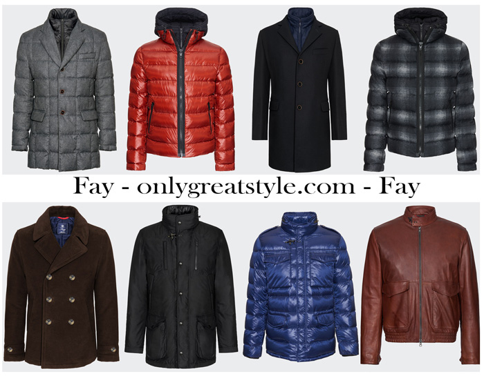Fay Outerwear For Men New Arrivals
