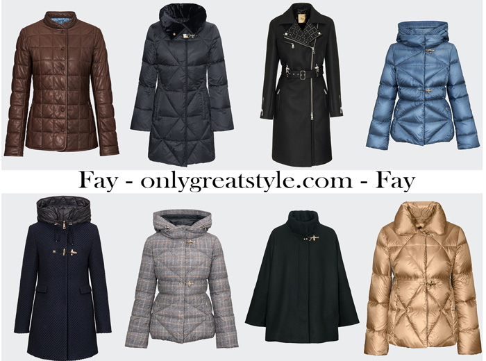 Fay Outerwear For Women New Arrivals