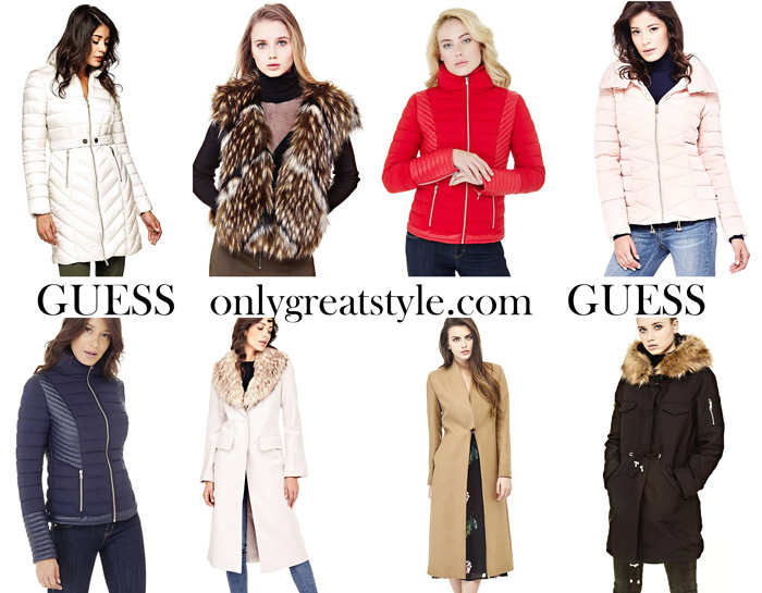 Guess Fall Winter 2017 2018 Jackets For Women