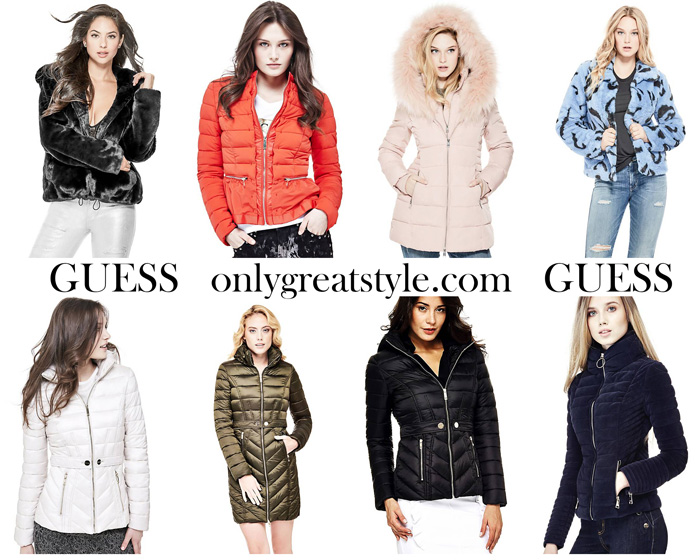 Guess Jackets For Women New Arrivals