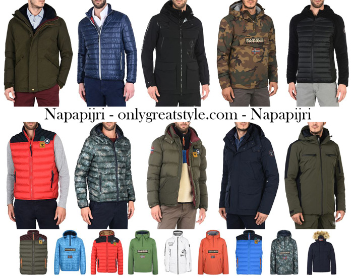 Napapijri Fall Winter 2017 2018 Jackets For Men