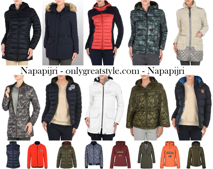 Napapijri Fall Winter 2017 2018 Jackets