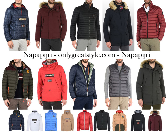 Napapijri Jackets For Men New Arrivals