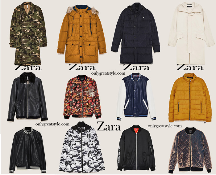 Zara Fall Winter 2017 2018 Jackets For Men