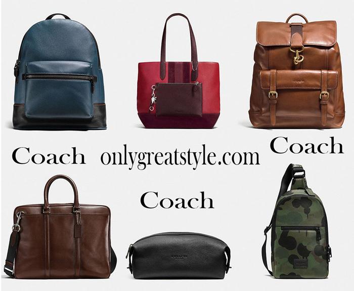 Handbags Coach 2017 2018 Coach bags for him