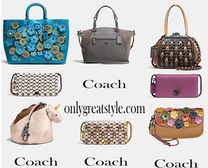 New Arrivals Coach Bags For Her 2017 2018