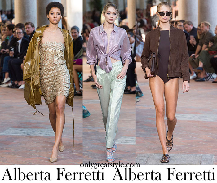 Clothing Alberta Ferretti Spring Summer Women's Fashion