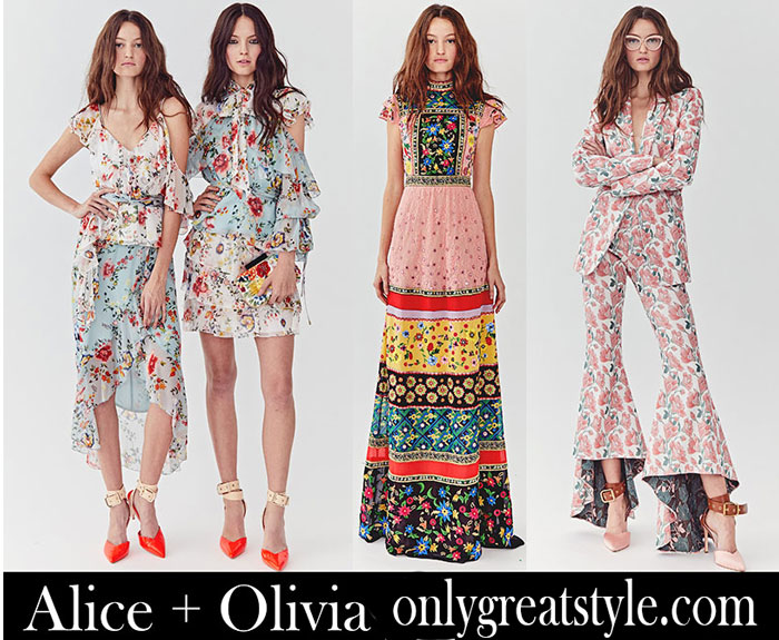 Clothing Alice Olivia Spring Summer Women's Fashion