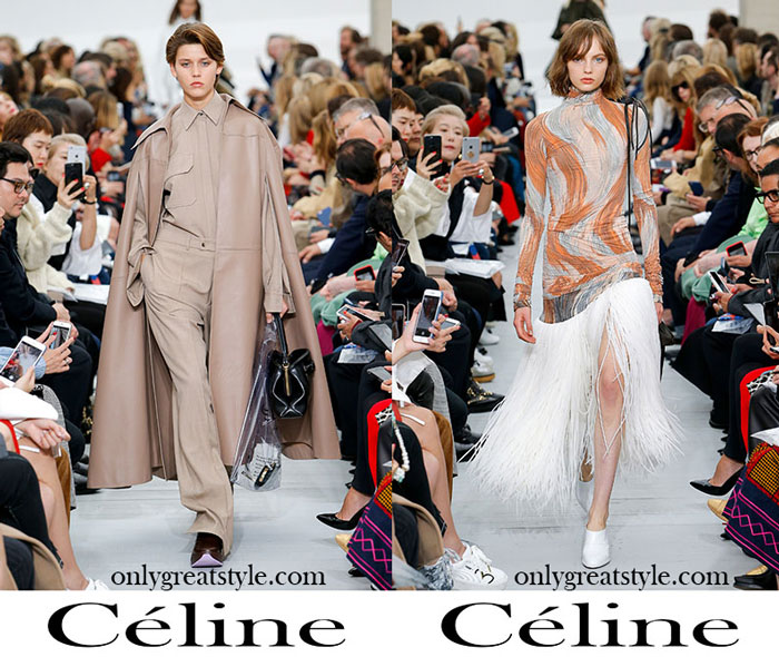 Clothing Céline Spring Summer Women's