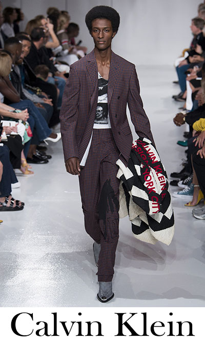 Clothing Calvin Klein Spring Summer 2018 Men's