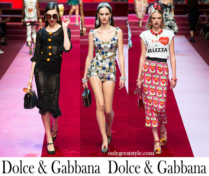 Clothing Dolce Gabbana Spring Summer Women's Fashion
