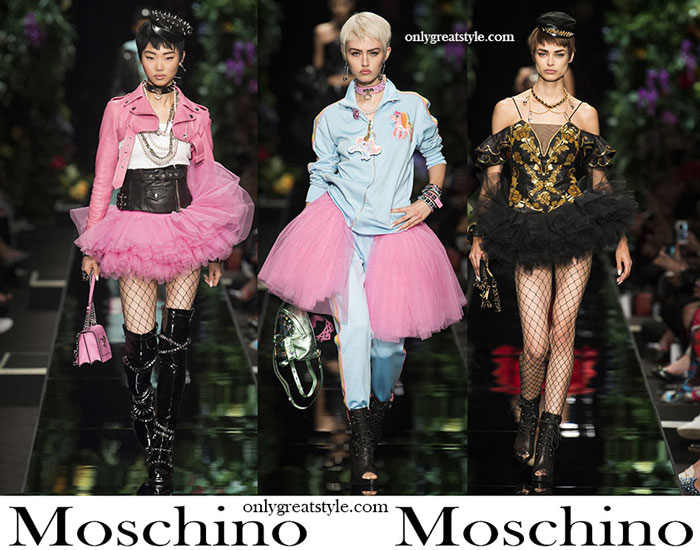 Clothing Moschino Spring Summer Women's Fashion