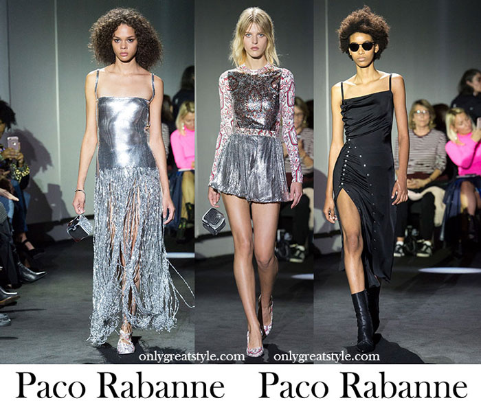 Clothing Paco Rabanne Spring Summer Women's Fashion