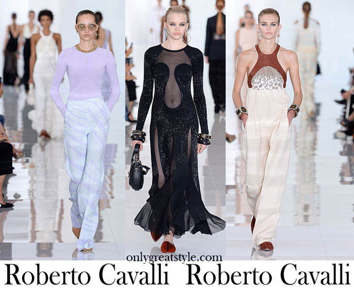Clothing Roberto Cavalli Spring Summer Women's Lifestyle