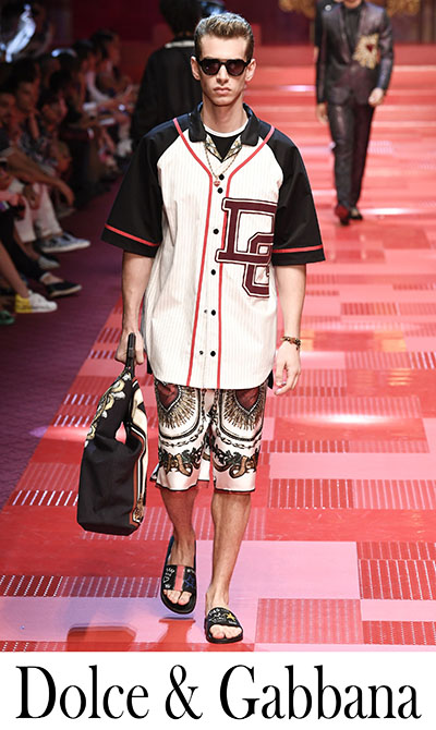 Fashion News Dolce Gabbana 2018 Men's Clothing